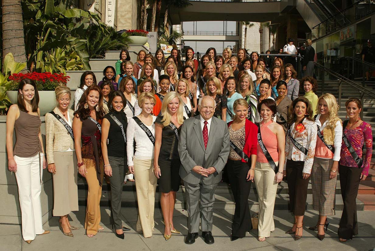 at a Miss America Pageant 2006 Photo Op. Highland and Hollywood, Hollywood, CA. 01-11-06